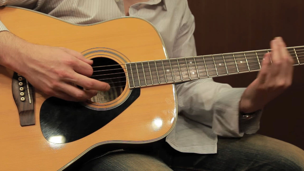Acoustic Guitar Four Octaves