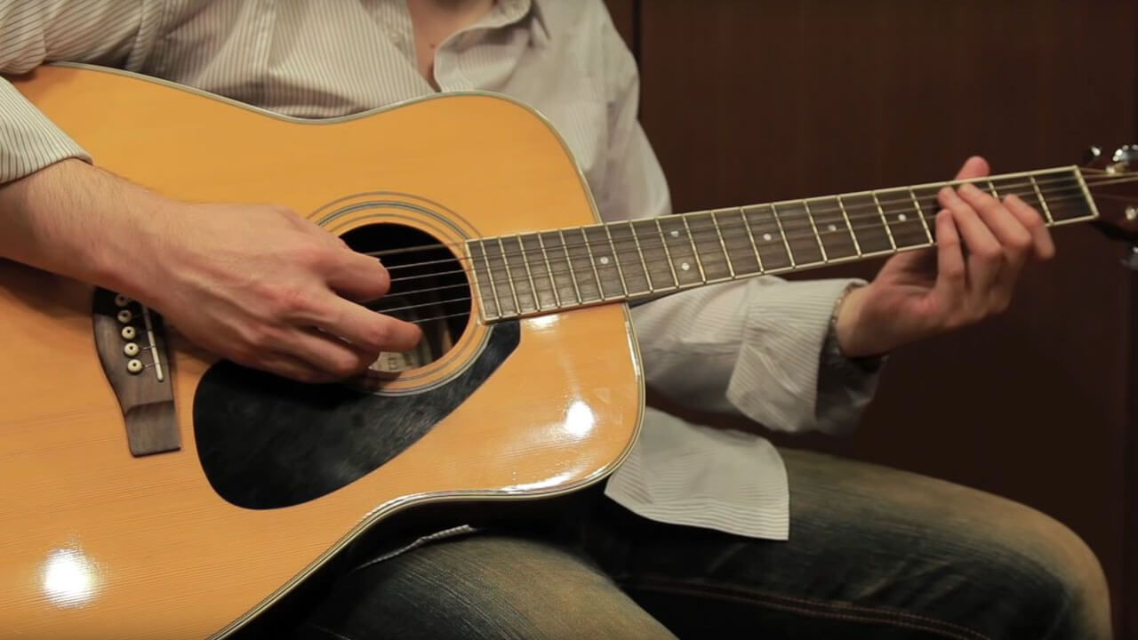 Acoustic Guitar Strings Sound