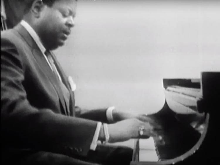 Jazz Piano Player Oscar Peterson