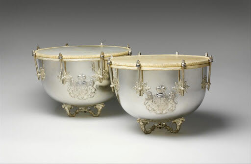Kettledrums from 18th century