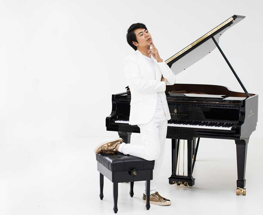 Lang Lang famous Chinese pianist