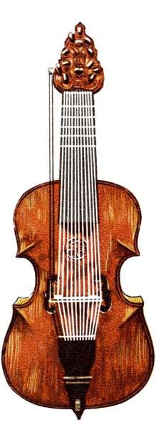 Lira da gamba - Violin predecessor