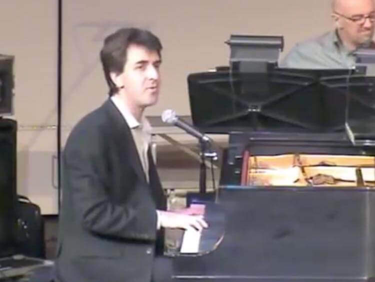 Jason Robert Brown plays Musical Theatre Piano