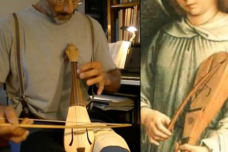 Rebec - Violin Predecessor