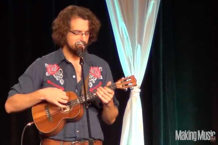 James Hill, a Canadian ukulele player