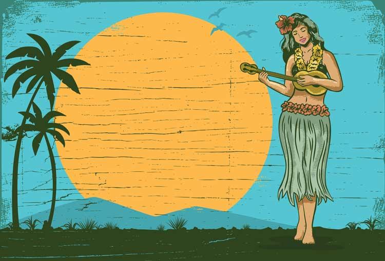 Ukuleles came to Hawaii