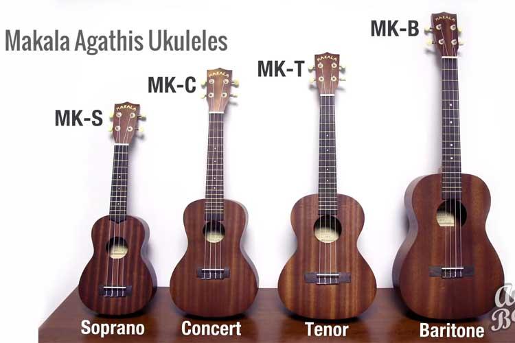 Makala Aganthis Ukuleles