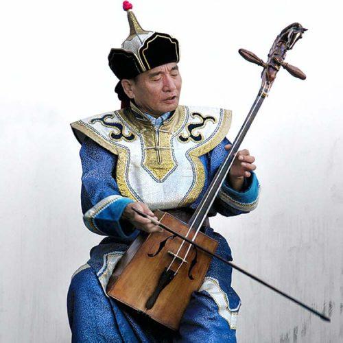 Mongolian morin khuur - Violin Predecessor